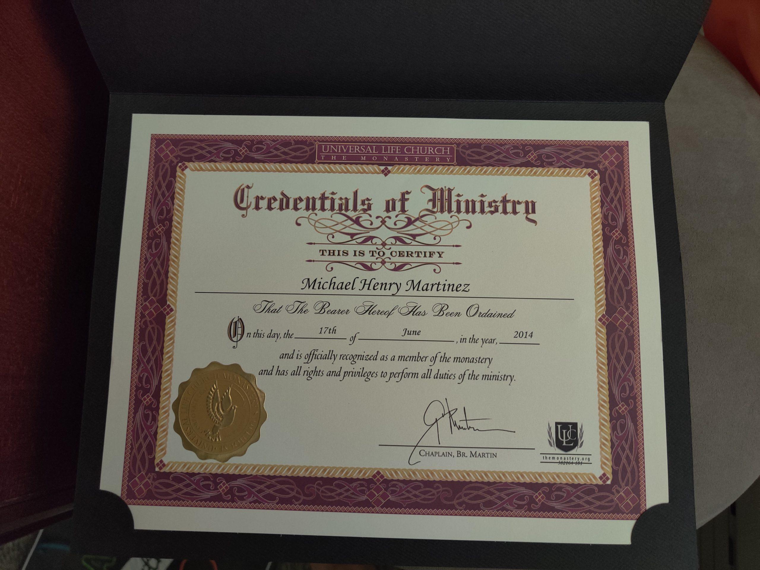Happy ordination anniversary to me!