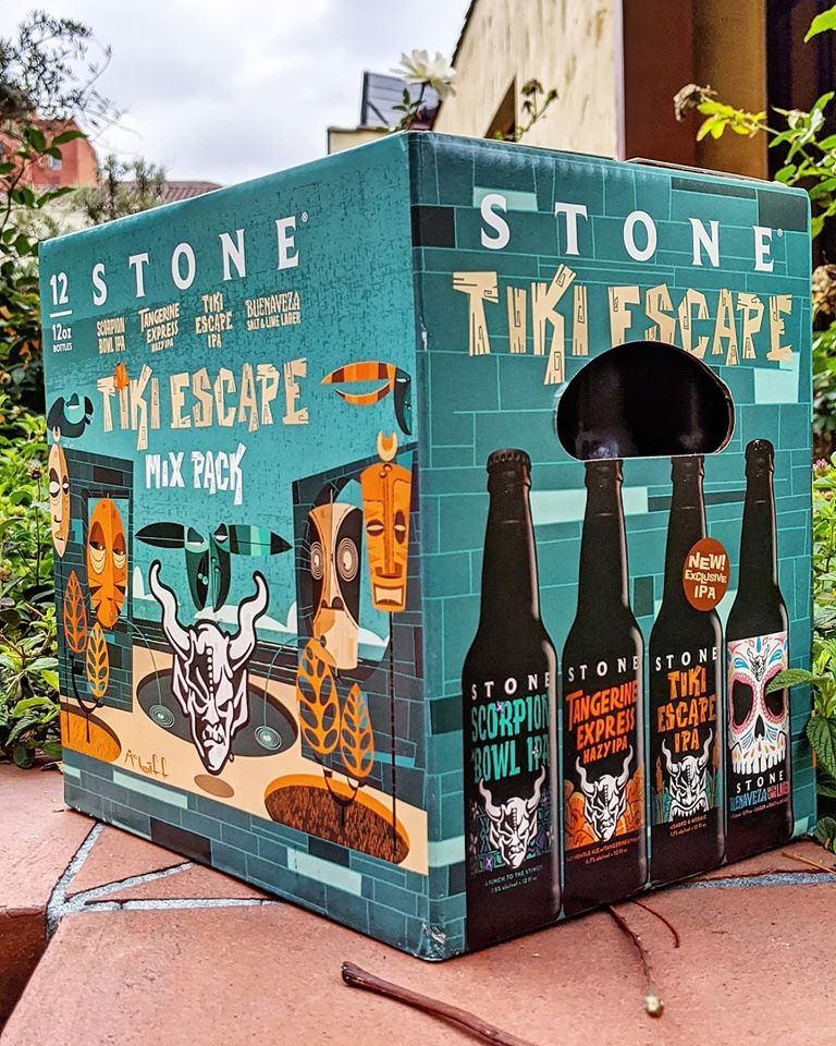 Stone brewing Tiki Escape Mix Pack Review