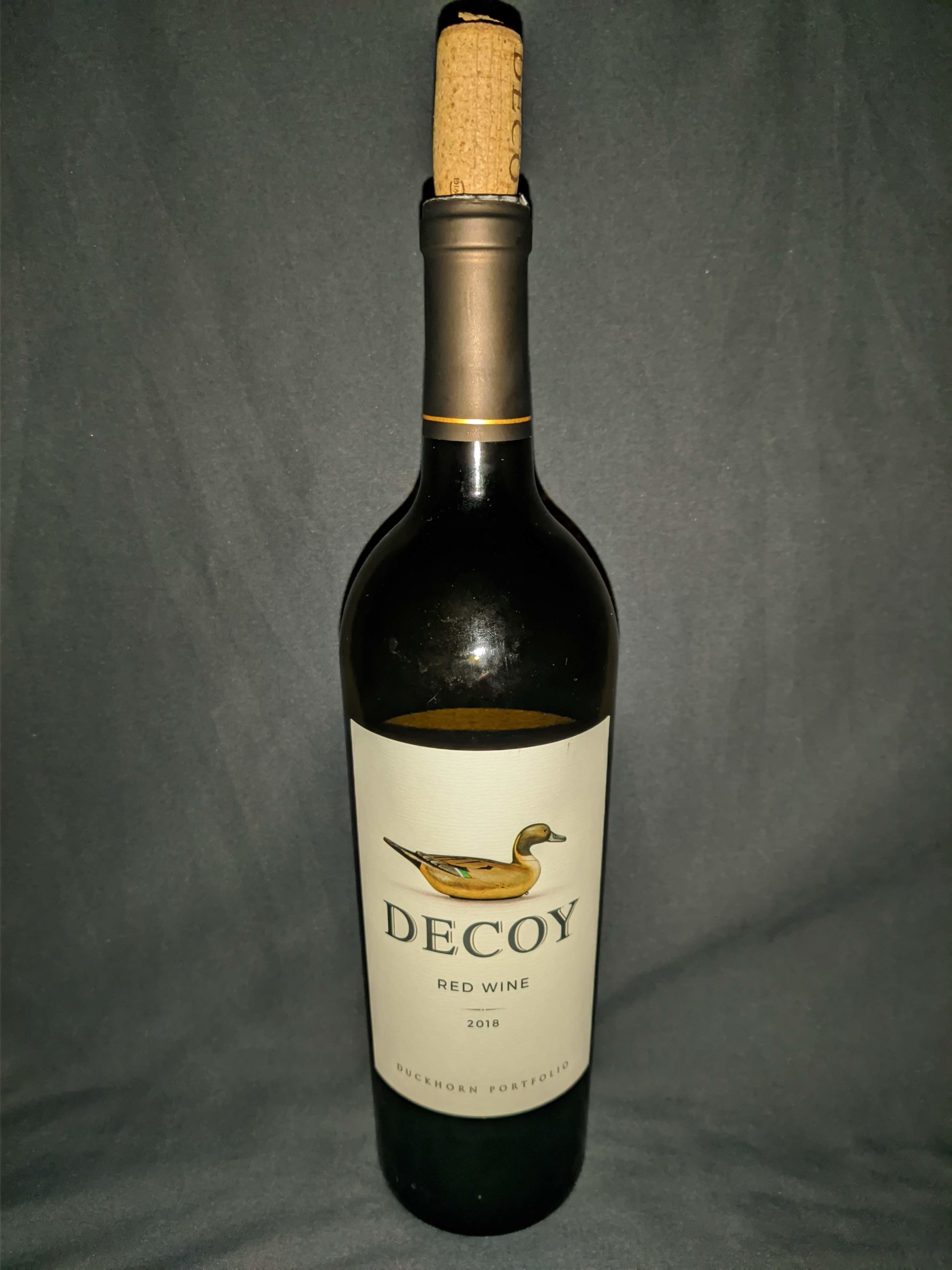 Decoy red wine review