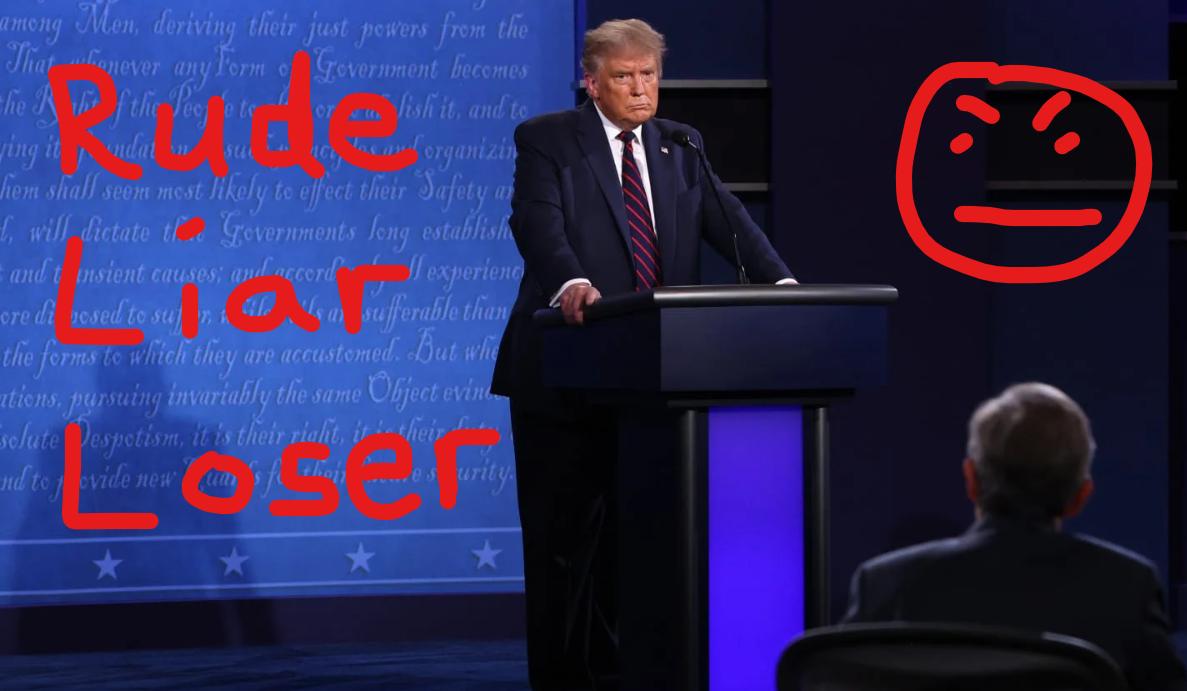 Trump: Interrupter in Chief