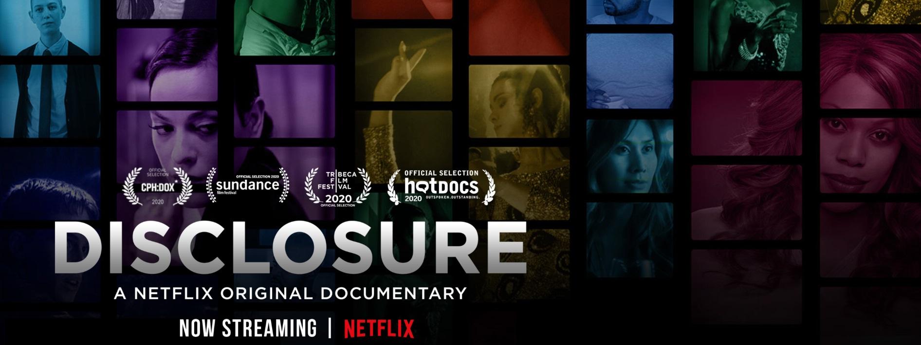 Netflix pick:  Disclosure