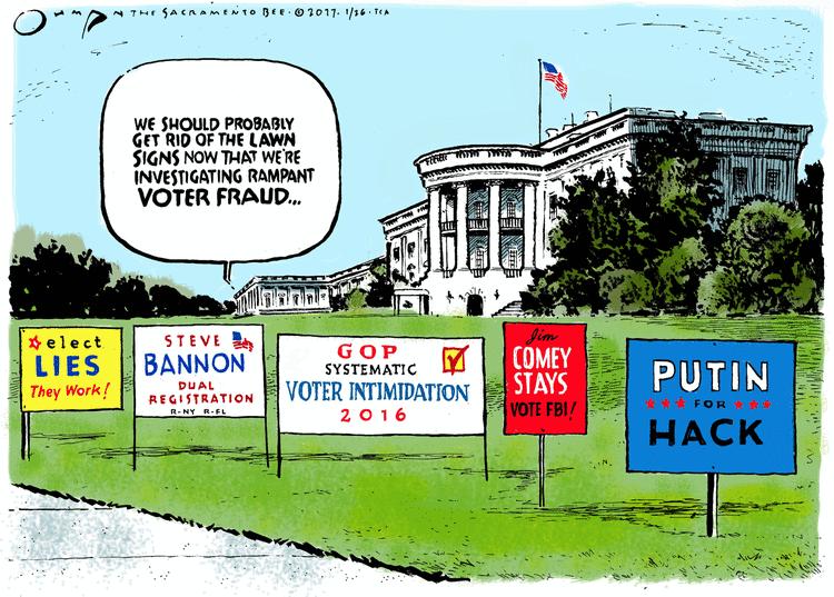 Voter beware: California Republicans perform Voter Fraud