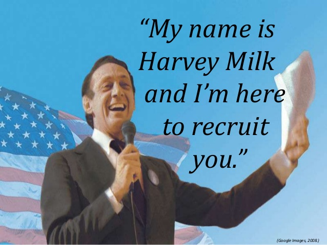 Harvey Milk Day is May 22nd