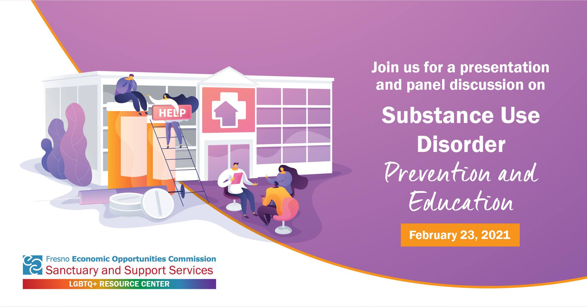 Second Substance Use Disorder Prevention & Education on March 23rd