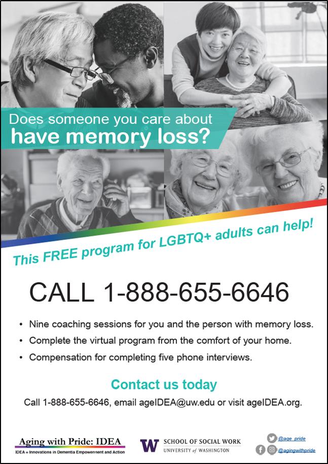 LGBTQ+ program for caregivers