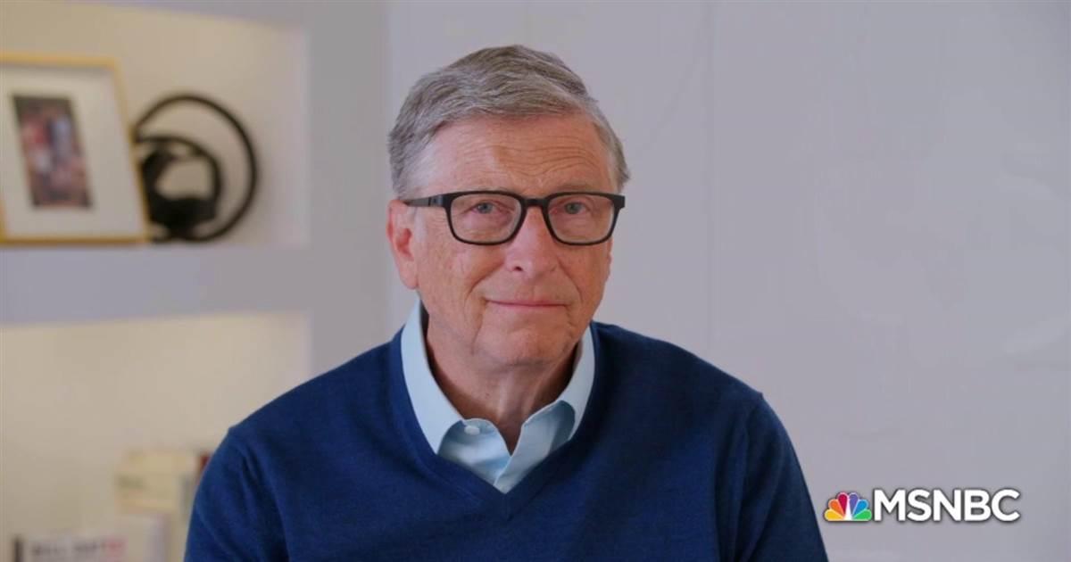Bill Gates interview on MSNBC