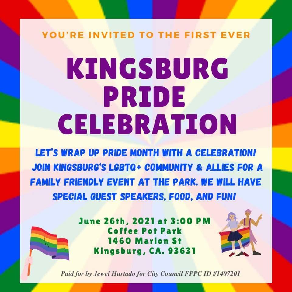 Kingsburg pride celebration
