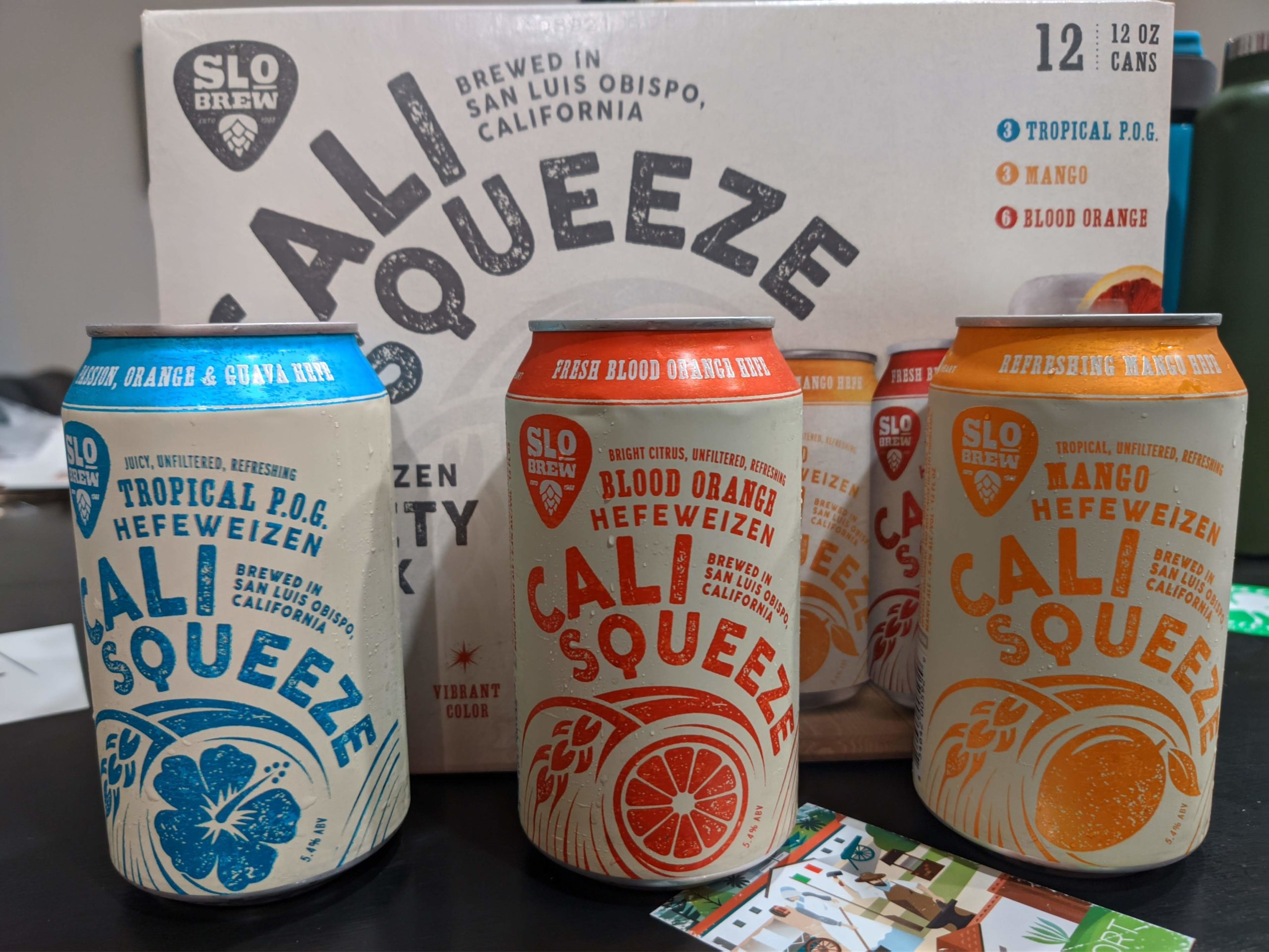 Cali Squeeze: Tropical POG and Mango review